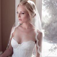 2014 Vintage eyelash lace fashion bride wedding soft long trailing bridal veil hair accessory free shipping
