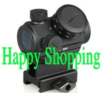 New 1X20 HD Reflex Red Dot Sight Scope With Quick High Riser for 20mm Weaver Rail Mount