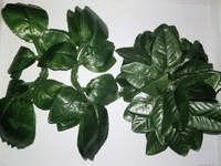 Free shipping artificial rose leaves for home decoration green leaves artificial plants for vines and Nylon flower screen-flower