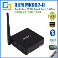 Rikomagic MK902II 16GB RK3288 Quad Core TV Box RAM 2G ROM Dual Band WIFI Support 4K H.265 Bluetooth Smart TV Box