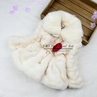 2015 Hot Sale Baby Girl Overcoat Wool Korean Styles Girls Jacket Top Grace Infant Coat Free Shipping OC41112-21^^EI
