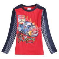 New boys long sleeve cartoon T-shirt / high quality children coat / fashion kids clothes