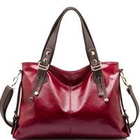 Hot Sale New 2014 Fashion Brand Women Handbag Burnished Leather Shoulder Bags Women Messenger Bags Bolsas