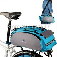 Biker Outdoor Sport 13L ROSWHEEL Bicycle Bag, Multi-shelf package bike mountainBike Rear Seat Pannier+backpack+Tote Bag