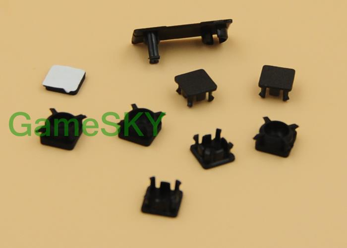 5 Set dust plug screw rubber feet cover For PlayStation PS3 Slim(China (Mainland))