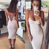 Free shipping 2015 Women's Dress Bandage Bodycon dress Lady's fancy party Evening wear