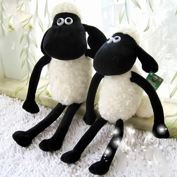 Hot Sale 30CM Very Cute NICI Sheep creative plush toy stuffed toy doll Shaun sheep Gift For Kids Free Shipping T007(China (Mainland))