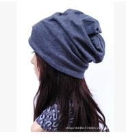 Wholesale New Fashion Winter Unisex Solid Color Elastic Hip Hop Cap Beanie Hat Slouch5 Colors