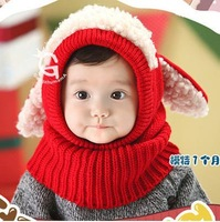 2014 Fashion Winter Autumn child hat baby boy ear protector cap pocket hat baby  hats rabbit  style