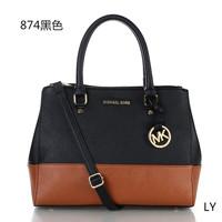 Promote fashion women handbag shoulder bag michaelled PU leather handbag high quality korss  handbag
