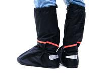 New Waterproof Rain Snow Zippered PVC Reusable Women Men High Boots Slip-resistant Wear-resistant Foldable Rainproof Shoes Cover