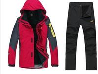 Winter Warm Men Ski Suit Jacket +Pants ,Snowboard Jacket For Men Snow Waterproof Jacket