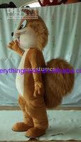Hot sale 2014 Adult squirrel mascot costume custom made mascot fancy dress costumes advertising mascot party dress