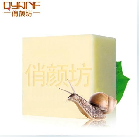Snail Handmade Soap Anti Aging Wrinkle Skin Care Moisturizing Acne Treatment Exfoliating Blackhead Remover Whitening Soap(China (Mainland))