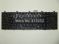Laptop Keyboard for MSI GT780 black GR Germany with frame&backlit V123322AK1 GR S1N-3EDE281-SA0