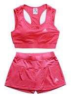 Women's running sports bra shorts set yoga bra wireless fitness sports vest shorts,Free Shipping