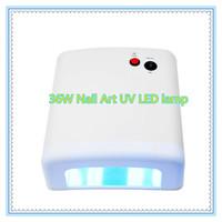 220V 36W EU Plug Gel UV Curing Nail Dryer Nail Art Professional Ultraviolet Lamp