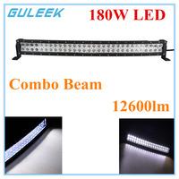 180W Type/G 6000K 60-Cree LED Work Light Bar DIY Used in Car/Boat/Auto Headlight Combo