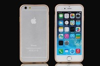 Ultra Thin Aluminum Bumper Luxury Metal Frame Case For iPhone 6 4.7inch 5pcs/lot Free Shipping