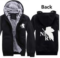 Hot New Winter Clothes Neon Genesis Evangelion  EVA Cosplay Hoodies Sweatshirts knittin  Free Shipping