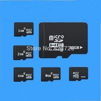 High Quality Real Capacity Class 10 8 GB 16GB 32GB 64GB Micro Sd Card 4GB Flash TF Memory Card Free Adapter Free Shipping