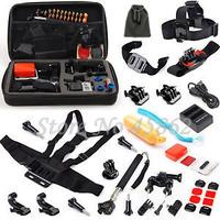GOPRO accessories All-in-1 Sport Accessories Bundle Kit for GoPro Hero4 Black/Silver Hero 4
