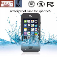 Waterproof Dirtproof Snowproof Case for iPhone 6 5.5inch with Fingerprint Sensor, EXTREME 3 in 1 Case Free Shipping!