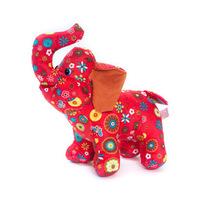 Cloth Lovely Elephant Plush Doll Toys Free shipping