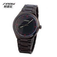 New Design Formal SINOBI Brand Watches Men Full Steel watch Quartz Analog Men's Watches