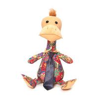 Cloth Cute cartoon tie Duck Plush Doll Toys Free shipping