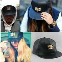 Influx of male hip-hop beauty & Egyptian pharaoh crocodile baseball cap