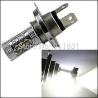 2PCS H4 80W Super Bright White Tail Turn Lights Brake Lights Head Lamp Car Light Lamp Bulb CREE LED #H113B