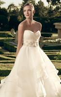 Amazing Strapless Sweetheart  Layered Wedding Dresses Bridal Gowns Vestido de Noiva  XS S M L XL 2XL 3XL 4XL 5XL