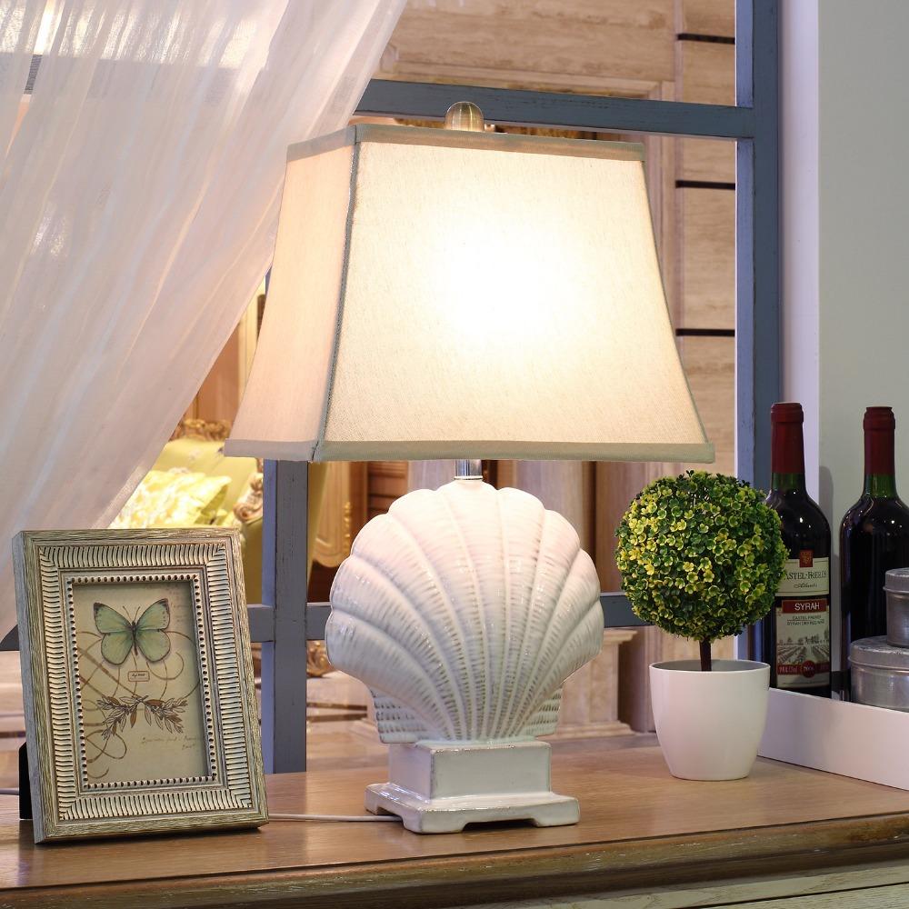 free shipping mediterranean sea style table lamp inn hotel. Black Bedroom Furniture Sets. Home Design Ideas