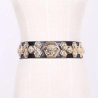 Beauty head decoration rubber band elastic strap belt cummerbund