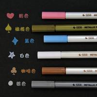 weili shop Metal pen quality paint pen diy photo album 6 photo album office & school supplies magnetics pen colour pen 043