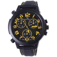 2013 Fashion Sport  V6 Watch Men Vogue Strips Hour Marks Round Dial Quartz Analog Men Luxury Wristwatches Free Shipping