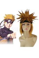 Naruto Uzumaki Spiky Cosplay Wig heat resistant Synthetic hair  Anime Wig