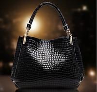 Brand 2014 Fashion PU Leather Bag Cowhide Women's Tassel Bag Shoulder Bag Vintage Handbag 3 Colors Gift CX50