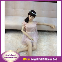 New Real Full Silicone Mini Sex Doll Japanese Realistic Silicone Vagina Sex Dolls With Skeleton Love Doll For Men Free Shipping