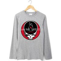 RATM KORN nu-metal grateful dead collage logo style long sleeves tee shirt