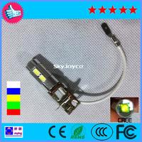 2 x white 8+1 CREE LED H3 Bulb Fog Light Lamp projector Daytime Running Light  White led drl H3 FOG LAMP BULB  foggy CREE led