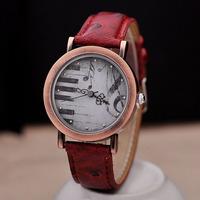 New 2014 Women Dress Wristwatch Quartz Leather Wrist Bracelet Fashion Women Watch Ladies Wristwatches