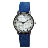 2014 vintage Casual Wristwatch with Fabric Strap Fashion Sport Watch Luxury student Watch Reloj