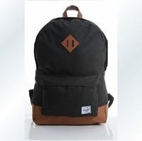 Herschel heritage patchwork double-shoulder backpack back to school women backpack men laptop backpack travel bag