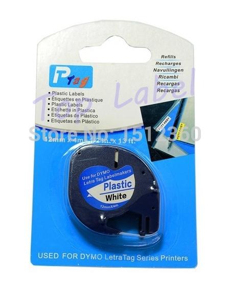 Лента для печатающего устройства PUTY 2 /dymo Letra 91201 LetraTAG 91201 лента для печатающего устройства puty 2 tze 231 bro pt 2030 p tz231 tze 231
