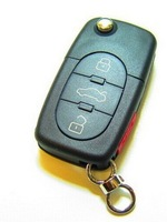 Replacement Remote key Keyless Entry Fob 3+1 Button 315MHZ 4D0 837 231 E 4D0837231E For A4 A6 A8 Old Models WIth ID48 Chip Uncut