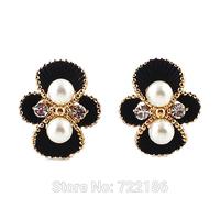 Brinco Perola Imitation Pearl Round Stud Earring 2014 Fashion Jewelry Innovative Items For Women