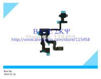 10Pcs/lot Power On/Off Camera Proximity Light Sensor flex cable Ribbon for iphone 4s free shipping