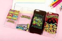 "Movie Star Cute Cartoon Turtle Mutant Ninja Hybrid Hard Plastic Back Case Cover For iPhone6 4.7"" & Plus 5.5"""